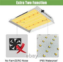 1000W Dimmable LED Grow Light Sunlike Full Spectrum Indoor Plants Lamp Veg Bloom