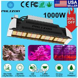 1000W LED Dimmable Grow Light Full Spectrum Growing Lamps for Indoor Plants Veg