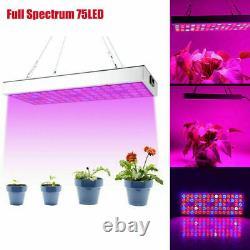 1000W LED Full Spectrum UV IR Plant Grow Light Veg Hydroponic Growing Lamp Herb