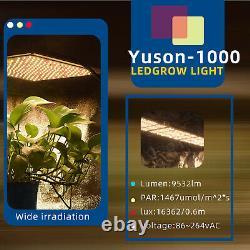 1000W LED Grow Light Full Spectrum For All Indoor Plant Veg Flower