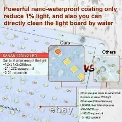 1000W LED Grow Light Kit Full Spectrum Sunlike For All Indoor Plant Veg Flower