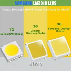 1000W LED Grow Light Samsung LM301B Quantum Board Lamp Veg Flower Indoor Plants