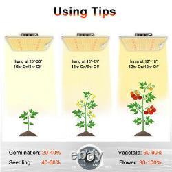 1000W LED Grow Light Sunlike Full Spectrum Veg Flower Indoor Plant