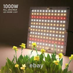 1000W LED Grow Light Ultra-thin Panel Full Spectrum For Indoor Plants Veg Lamp