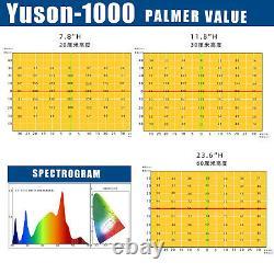 1000W LED Grow Light for Bloom Sunlike Full Spectrum Indoor Plants Veg Fllowers