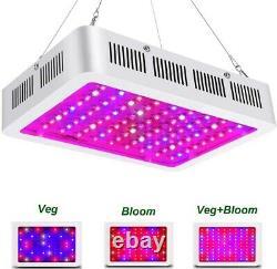 1000W Led Grow Light Full Spectrum Lamp For Hydroponic Plant Growing Veg Bloom