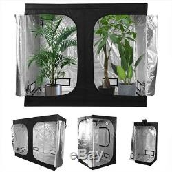 1500W Hydro Led Grow Light Veg Flower Plant + Indoor Grow Tent Kit Multi-size