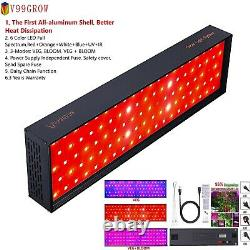 1500With3000With5000W LED Grow Light 100% Full Spectrum Veg Bloom Flower Switch Lamp