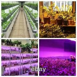 2000W 96LED 2COB Grow Light Full Spectrum Indoor Hydro Plant Veg Flower Bloom