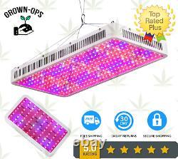 2000W Hydroponics LED Grow Lights Full Spectrum Indoor System Veg Flower Lamp