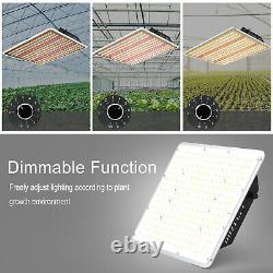 2000W LED Grow Light Dimmable Sunlike Full Spectrum for Greehouse VEG All Stages