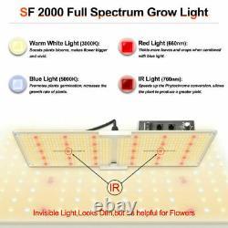 2000W LED Grow Light Samsung led LM301B All Stage Veg Flower Indoor Hydroponics