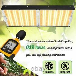 2000W LED Grow Light Sunlike Full Spectrum for Indoor Plants Veg & Bloom Switch