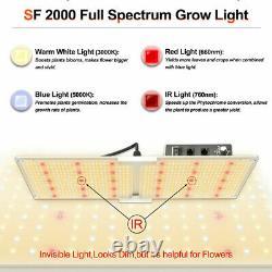 2000W LED Plant Grow Light Samsungled LM301B Indoor Plants Veg Flower