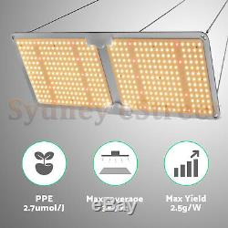 2000W Sunlike Full Spectrum LED Grow Light Samsungled LM301B Indoor Plants Veg