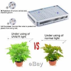 2000W Watt LED Grow Light Panel Full Spectrum Lamp for Vegs Flower Indoor Plant