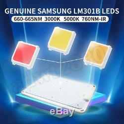 2020 GOLKAR 1000W LED Grow Light Sunlike Full Spectrum Veg Flower Indoor Plant