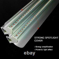 2PACK 2000W T5 Dual Tube LED Bulb Grow Light Full Spectrum Indoor Plant Veg Lamp