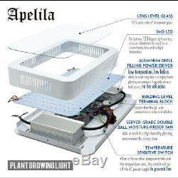 2PCS 5000W Plant UV IR LED Grow Light Full Spectrum Lamp Indoor Veg Flower Fruit