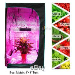 2PCS Mars Hydro Mars II 900W Led Grow Lights Full Spectrum Veg Flower For Plant