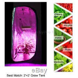 2PCS Mars Hydro Reflector 300W Led Grow Light Panel Lamp Indoor Plant Veg Bloom