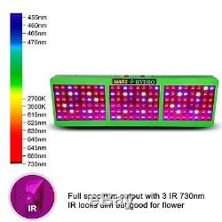 2PCS Mars Hydro Reflector 800W Led Grow Lights Full Spectrum Veg Bloom Indoor IR