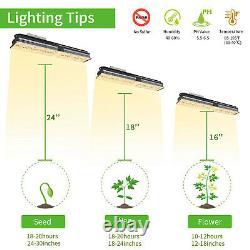 2PCS Mars Hydro SP150 LED Grow Light Full Spectrum Indoor Plant for Veg Home Kit