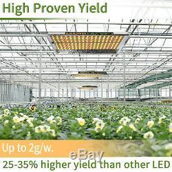 2PCS Mars Hydro TS 1000W Led Grow Light Sunlike Spectrum Hydroponics Veg Flower