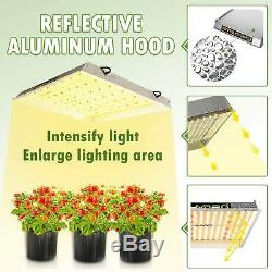 2PCS MarsHydro TS 3000W LED Grow Light White Full Spectrum Indoor Grow VEG Bloom