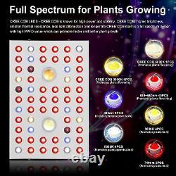 2X 1000W LED COB Grow Light CREE Full Spectrum with VEG/Bloom Switch Greenhouse