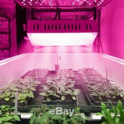 2x 1500W LED Grow Light Lamp Double Chip Full Spectrum Medical Indoor Plant Veg