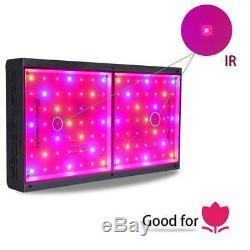2x Mars ECO 600W Full Spectrum LED Grow Light for Indoors Plant Veg Flower Lamp