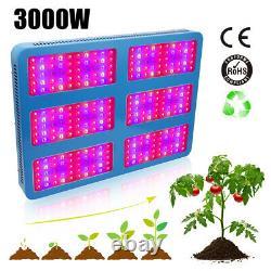 3000W Hydro LED Grow Light Full Spectrum Veg Bloom for Commercial Medical Plants