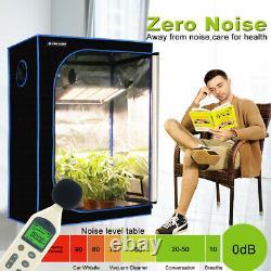 3000W LED Grow Light 5X5ft Full Spectrum for Indoor Plant Veg Flower Dimmable