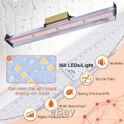 3000W LED Grow Light Flower Blooming Lamp Full Spectrum for Indoor Plants & Veg