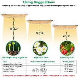 3000W LED Grow Light Sunlike Full Spectrum Indoor Plants Veg Flower