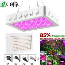 3000With2000W LED Grow Light Full Spectrum Veg Flower Indoor Plant Lamp&Panel #A