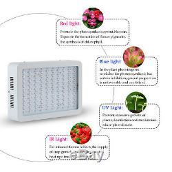 300W Full Spectrum LED Grow Light Indoor Hydroponic Plants Veg Flower Lamp