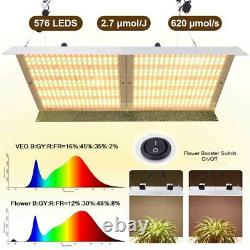 4000W LED Grow Light Full Spectrum Veg Flower For Indoor All Stage Plant IP65