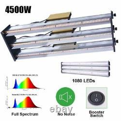 4500W Full Spectrum LED Grow Light Bar Strips For All Indoor Plants Veg Flower