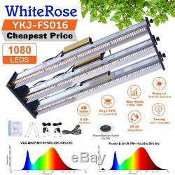 4500W LED Grow Light Bar Strips Full Spectrum For All Indoor Plants Veg Flower