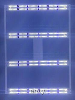 4x VEG Sun Board 6500k Samsung lm561c + 450nm Strip Grow Light HLG Driver DIY