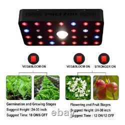 500W LED Grow Light COB Full Spectrum Veg Flower Hydroponic Indoor Plant Medical