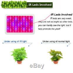 600W 1000W Watt LED plant Grow Light Kits Panel Lamp Hydroponics Veg Flower NEW
