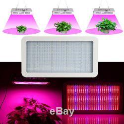 600W-1200W LED Grow Light Panel Indoor Plant Full Spectrum Hydro Lamp Veg Flower