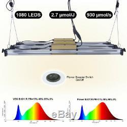 7000W LED Grow Light Tube Full Spectrum Dual Indoor Seeding Veg Flower IP65