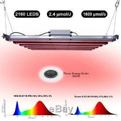 720W Red Light LED Grow Light Growing Lamp Bar Full Spectrum Indoor Veg & Flower