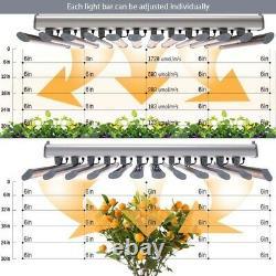 720w Professional Premium LED Full Spectrum indoor Grow Light Bar for Bloom, Veg