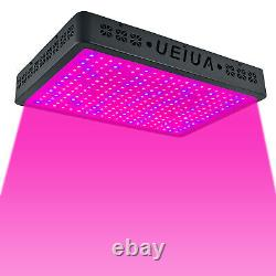8000W LED Grow Light Lamp Full Spectrum UV&IR Greenhouse Indoor Plant Veg Bloom