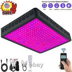 8000W LED Grow Light Lamp Full Spectrum for Indoor Plant Veg Flower Daisy Chain#